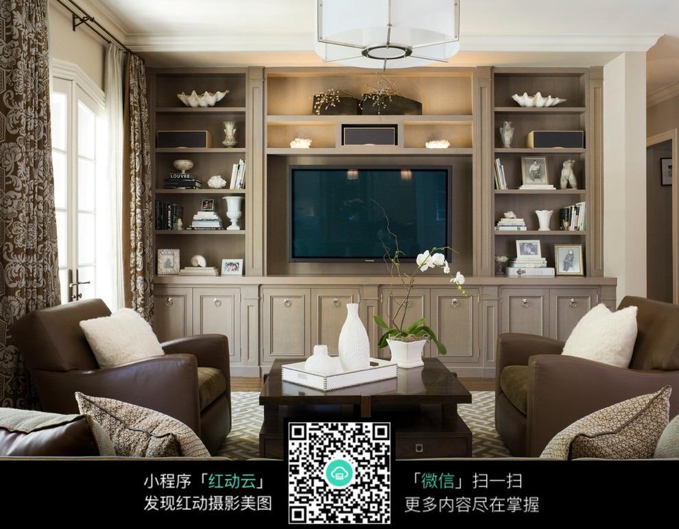 家装电视背景墙效果图图片