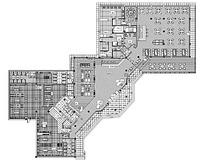 酒店平面效果图设计