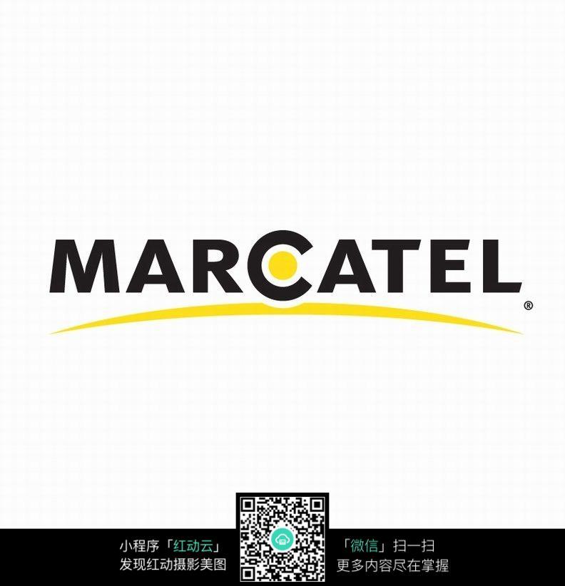 marcatel黄黑文字设计图片