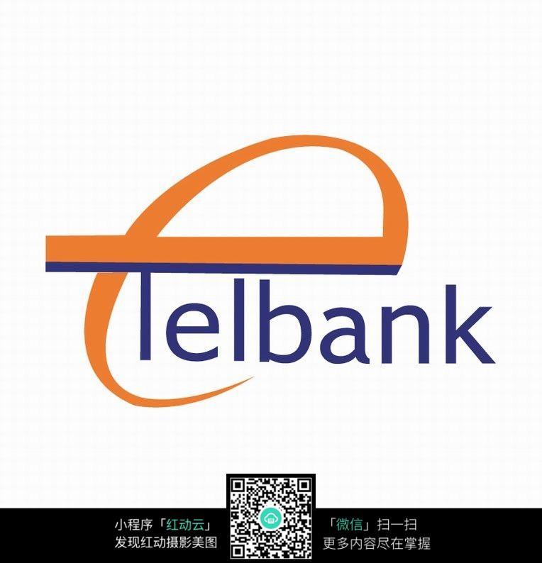 字母e变形创意银行logo设计图片