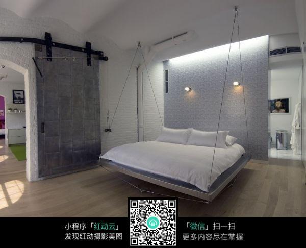 白色吊床图片素材_室内设计图片