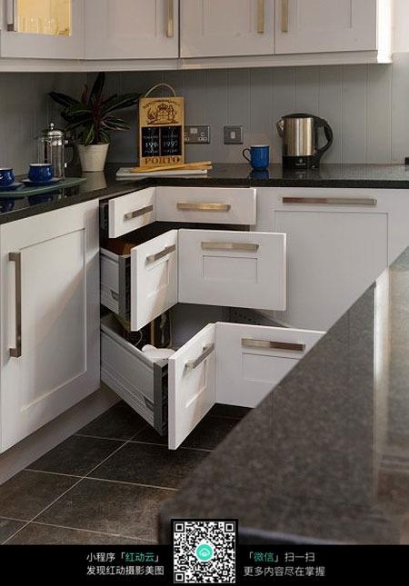 厨房橱柜设计_室内设计图片