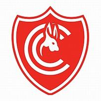 红色臂章球队logo设计