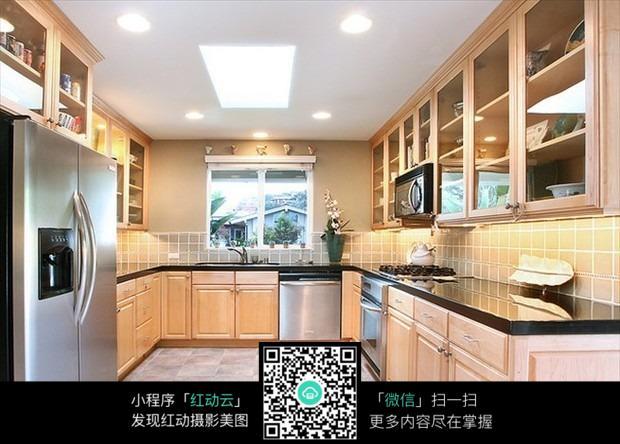 开放式厨房设计_室内设计图片