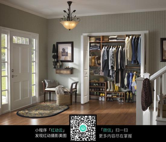 衣柜简约装潢图片_室内设计图片