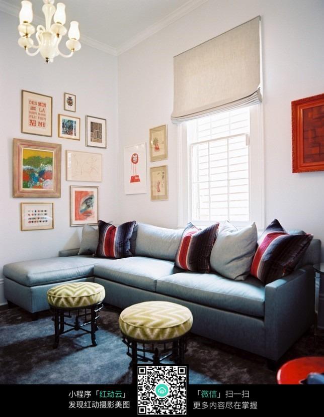 圆形沙发凳设计