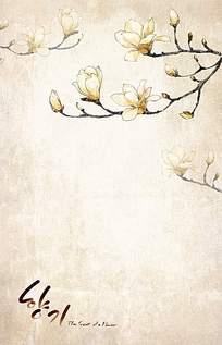 梨花背景素材