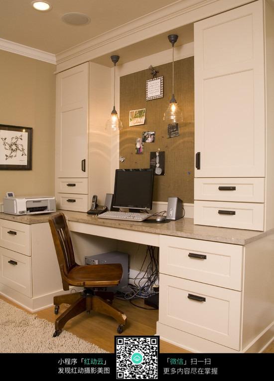 书房简约设计_室内设计图片