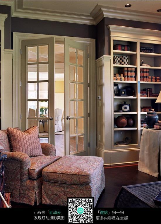 书房一角_室内设计图片