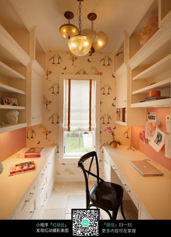 小空间书房_室内设计图片图片