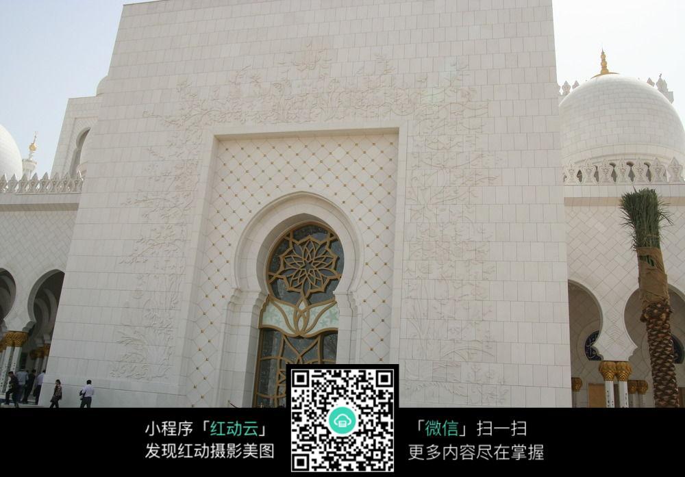 阿拉伯風格建筑入口圖片