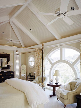 三角形屋顶卧室设计素材
