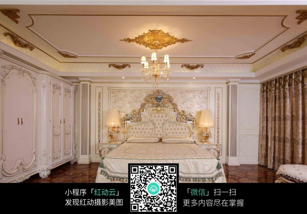 奢华豪华卧室室内装修效果图图片