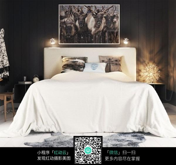 卧室正面效果图片
