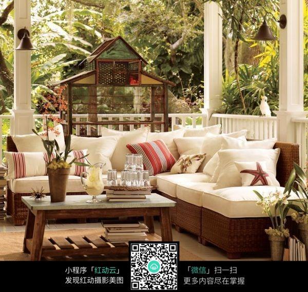 阳台装饰效果图图片