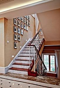 室内楼梯装饰图片,高清大图_家庭装潢素材图片