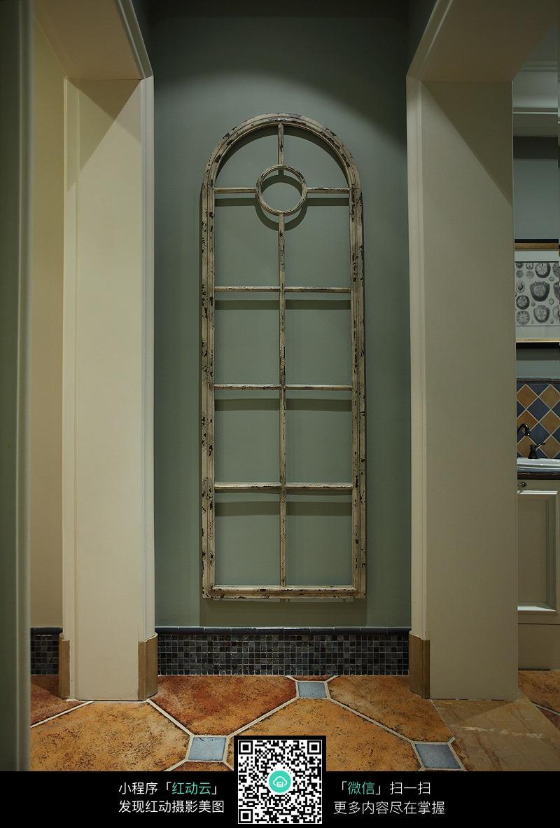 欧式大门装潢效果图