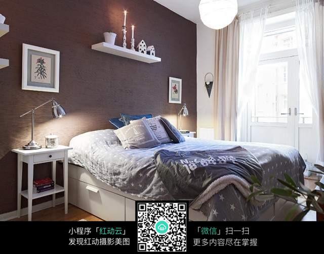 北欧风格卧室装修效果图图片