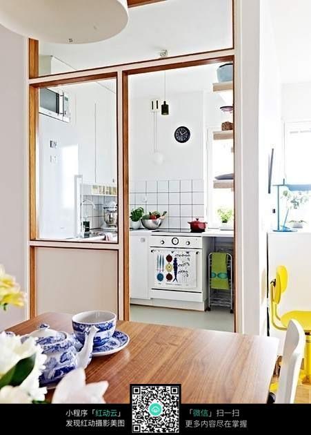 厨房推拉门装修效果图图片