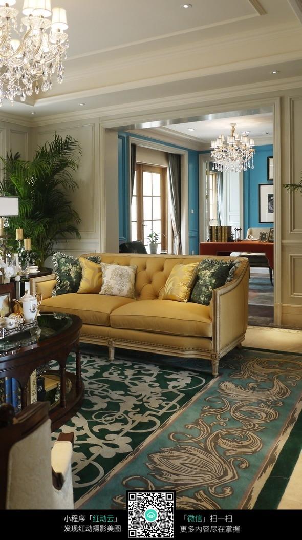 客厅地毯装修效果图