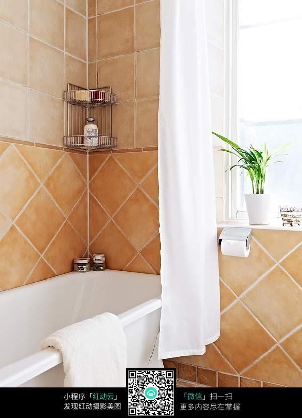 洗浴间瓷砖装修效果图