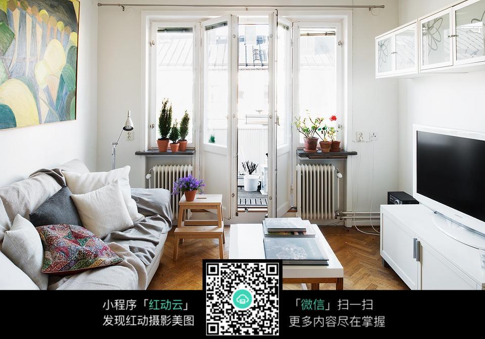小户型客厅装修效果图图片