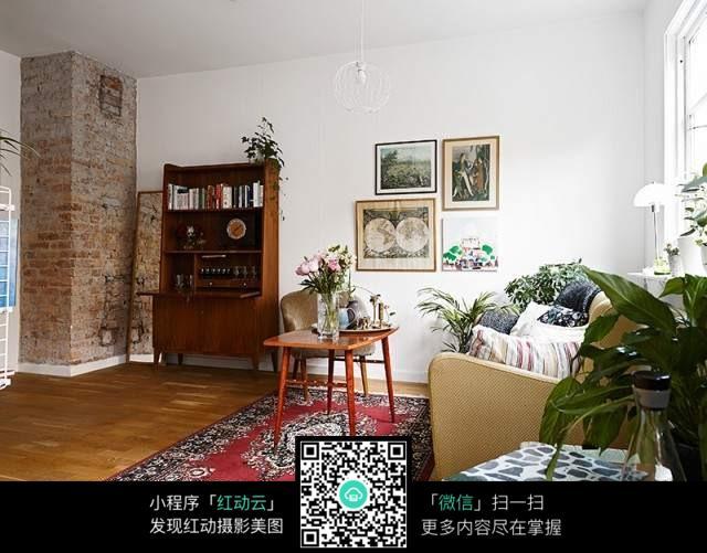 欧式复古文艺客厅