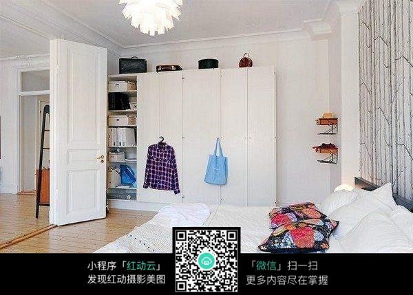 艺术创意的卧室装饰图片