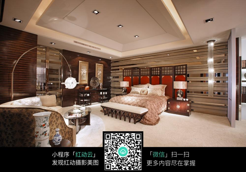 欧式卧室装潢图片