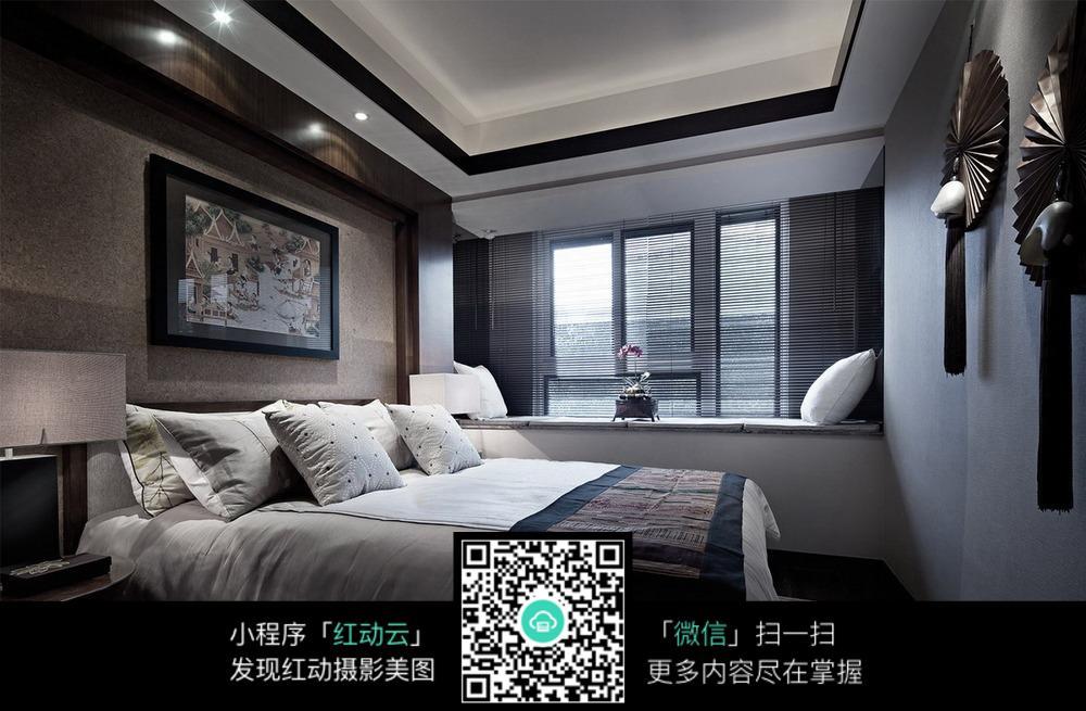 商务精致卧室装修效果图