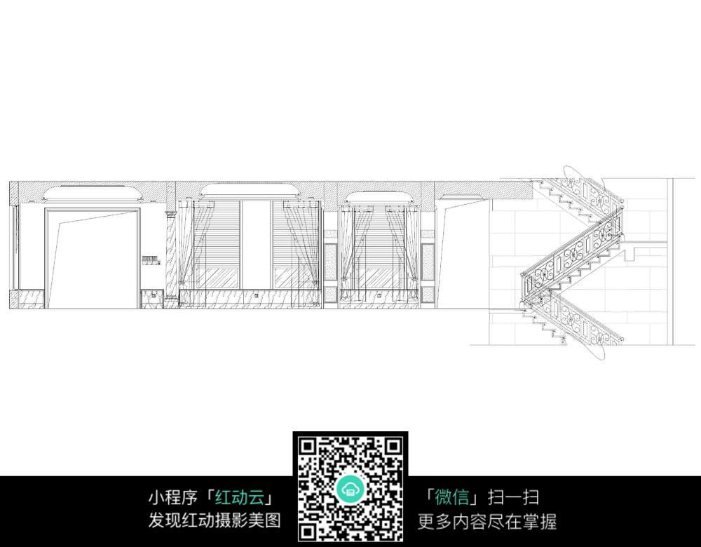 楼梯设计施工图纸