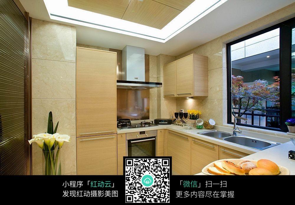 126平米厨房欧式装修设计图
