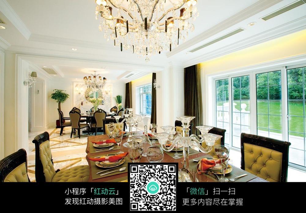 大气欧式家居餐厅装饰图片