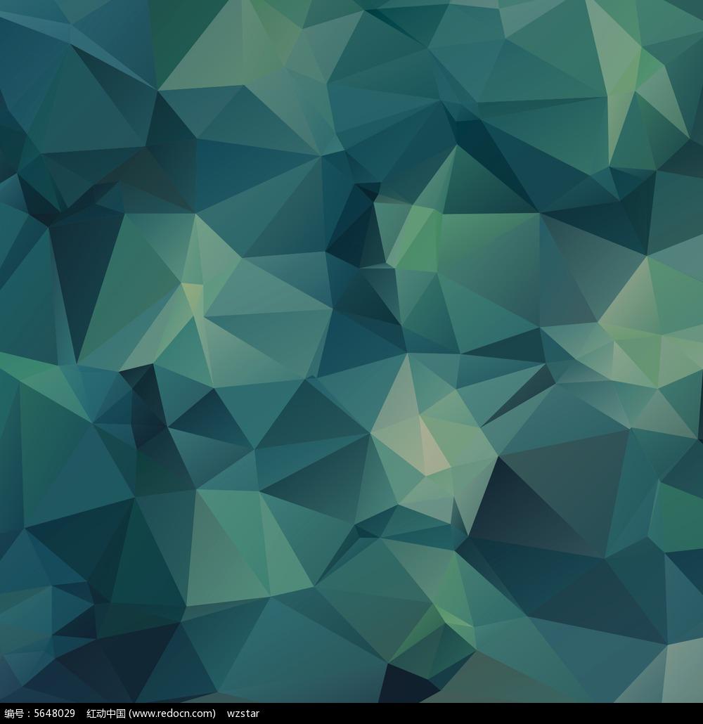 绿色拼色渐变晶格化背景素材图片