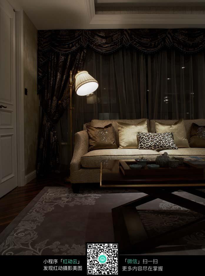 欧式家居客厅装饰装潢图片