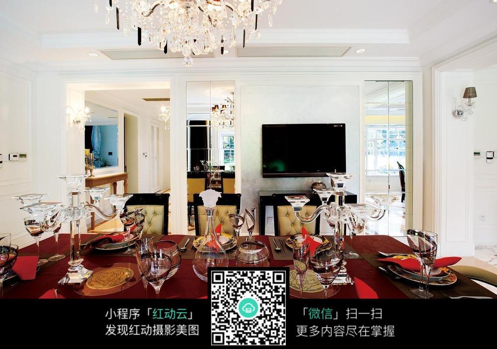 欧式家居设计餐厅装饰图片