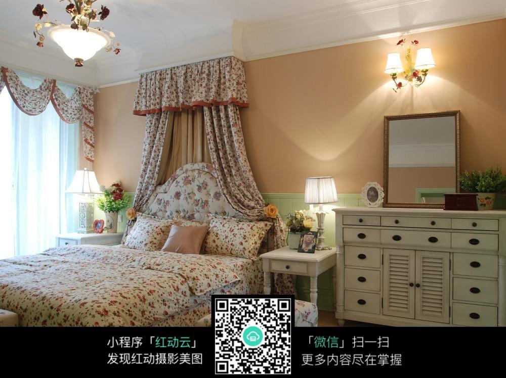 公主碎花卧室装修效果图