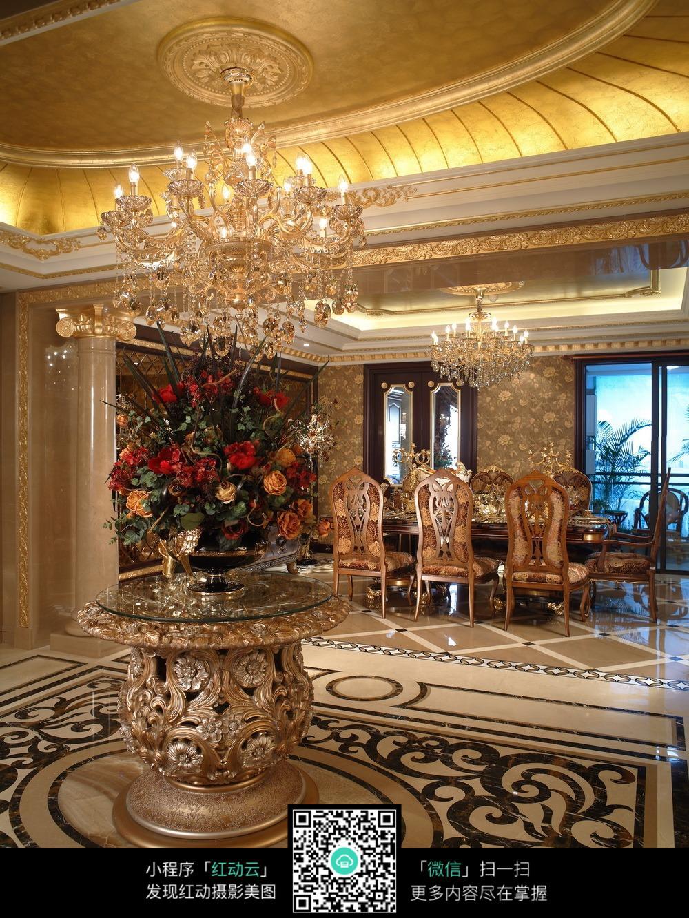 豪华欧式家居室内装饰图片