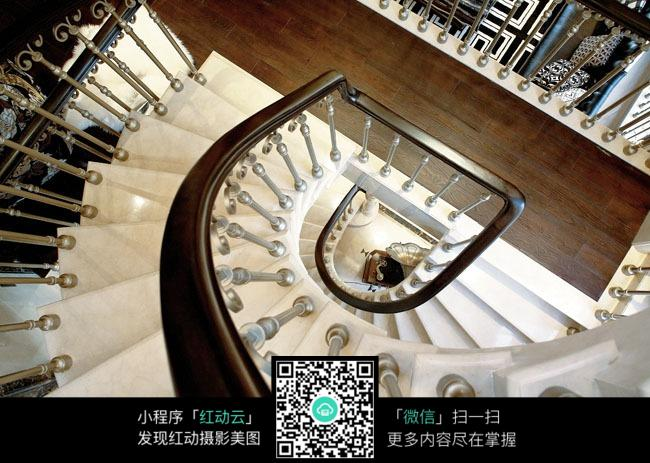 螺旋状大理石楼梯设计素材图片免费下载 红动网