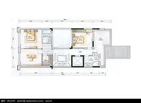 室内设计平面效果图纸
