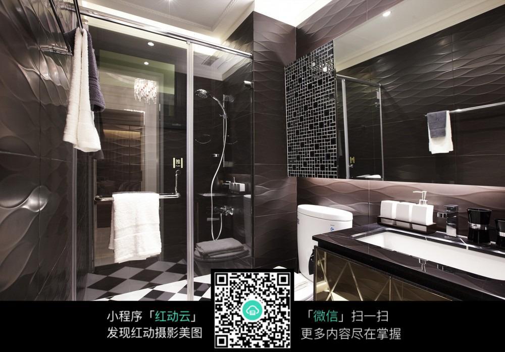 现代高档的卫生间设计