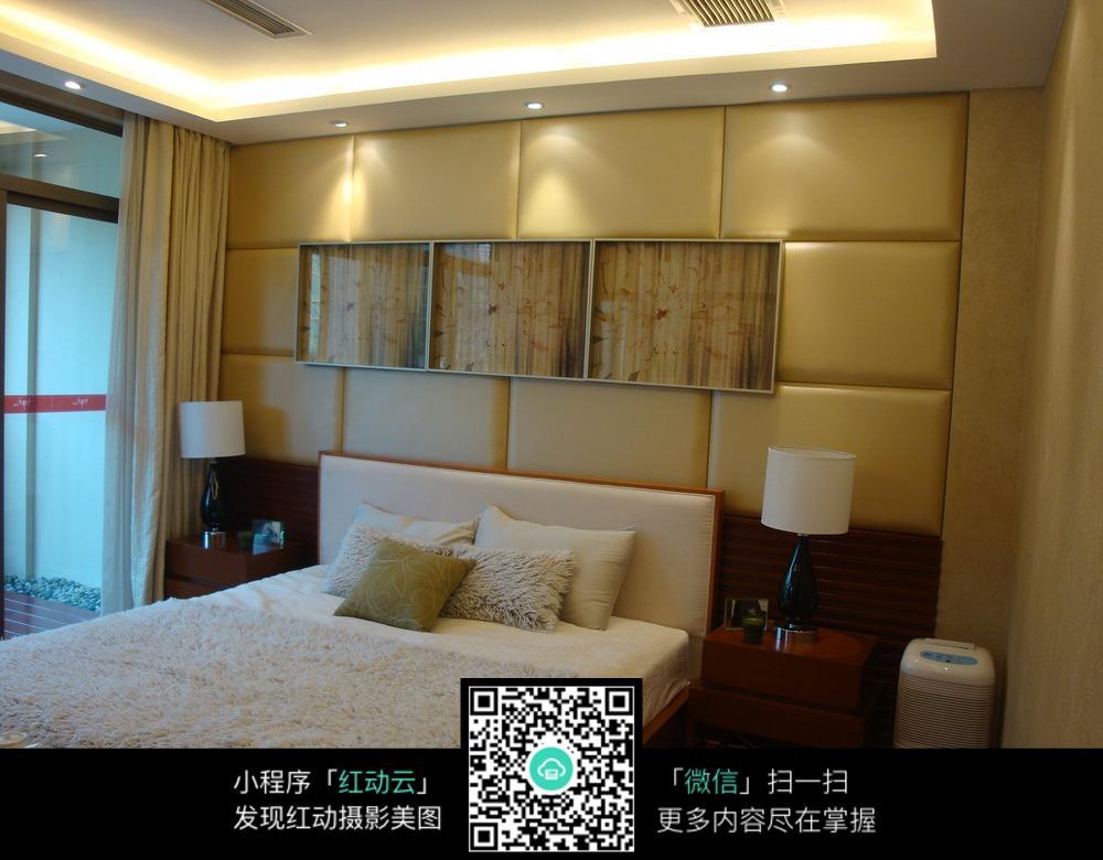 高档酒店卧室装修效果图