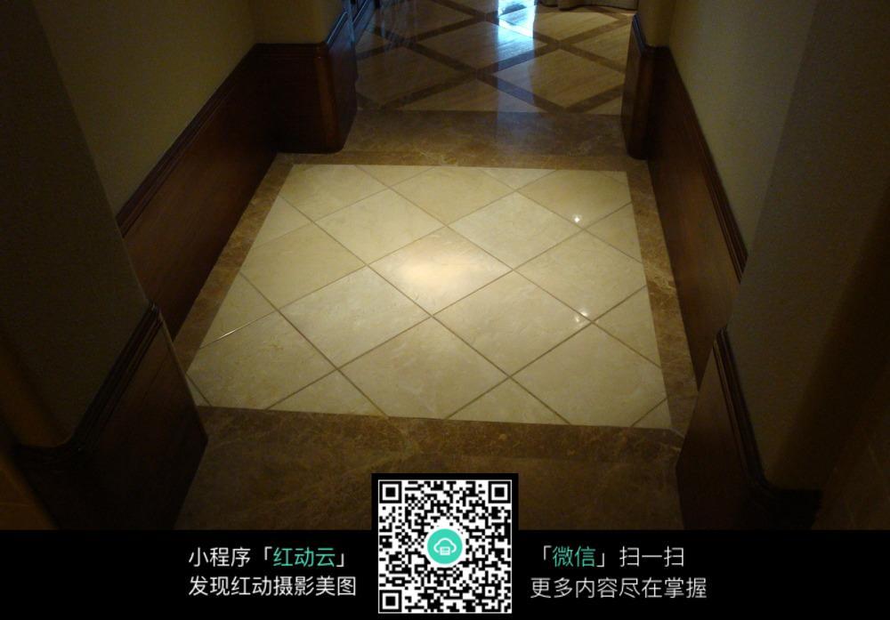 过道地板砖铺设效果图图片
