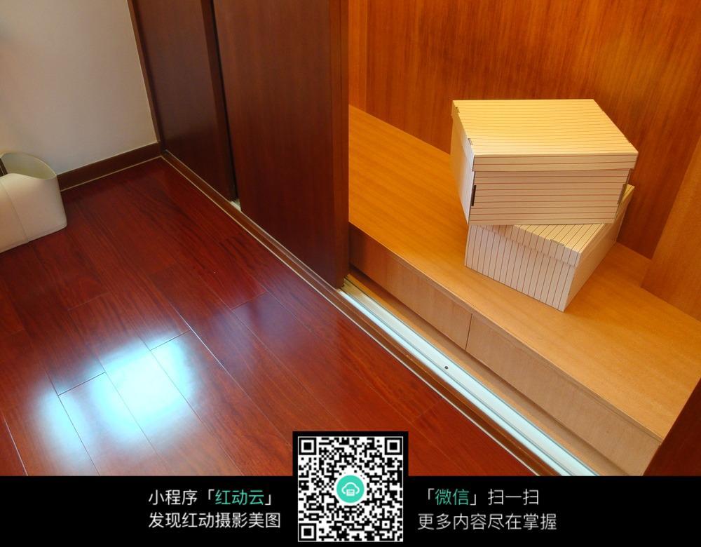 红色木质地板室内装修效果图图片免费下载 编号5683577 红动网图片