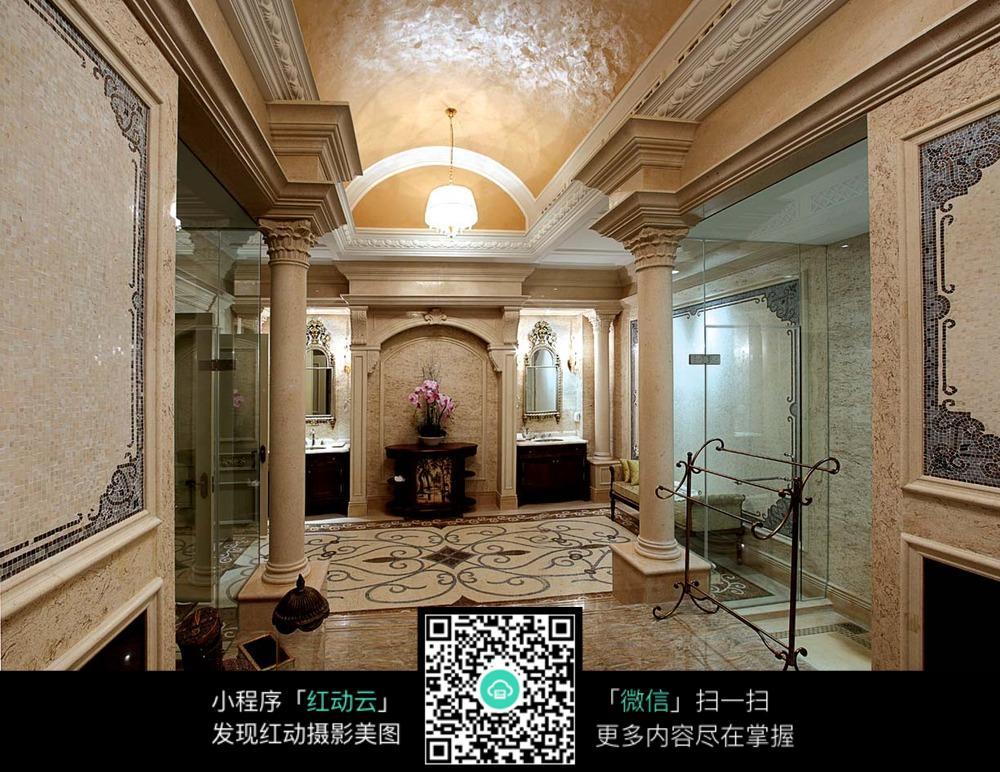 欧式复古奢华室内装修效果图