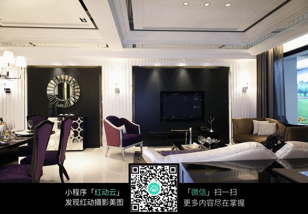 欧式高档的客厅设计