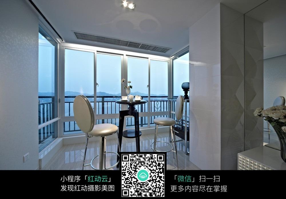 艺术创意的室内阳台设计图片图片