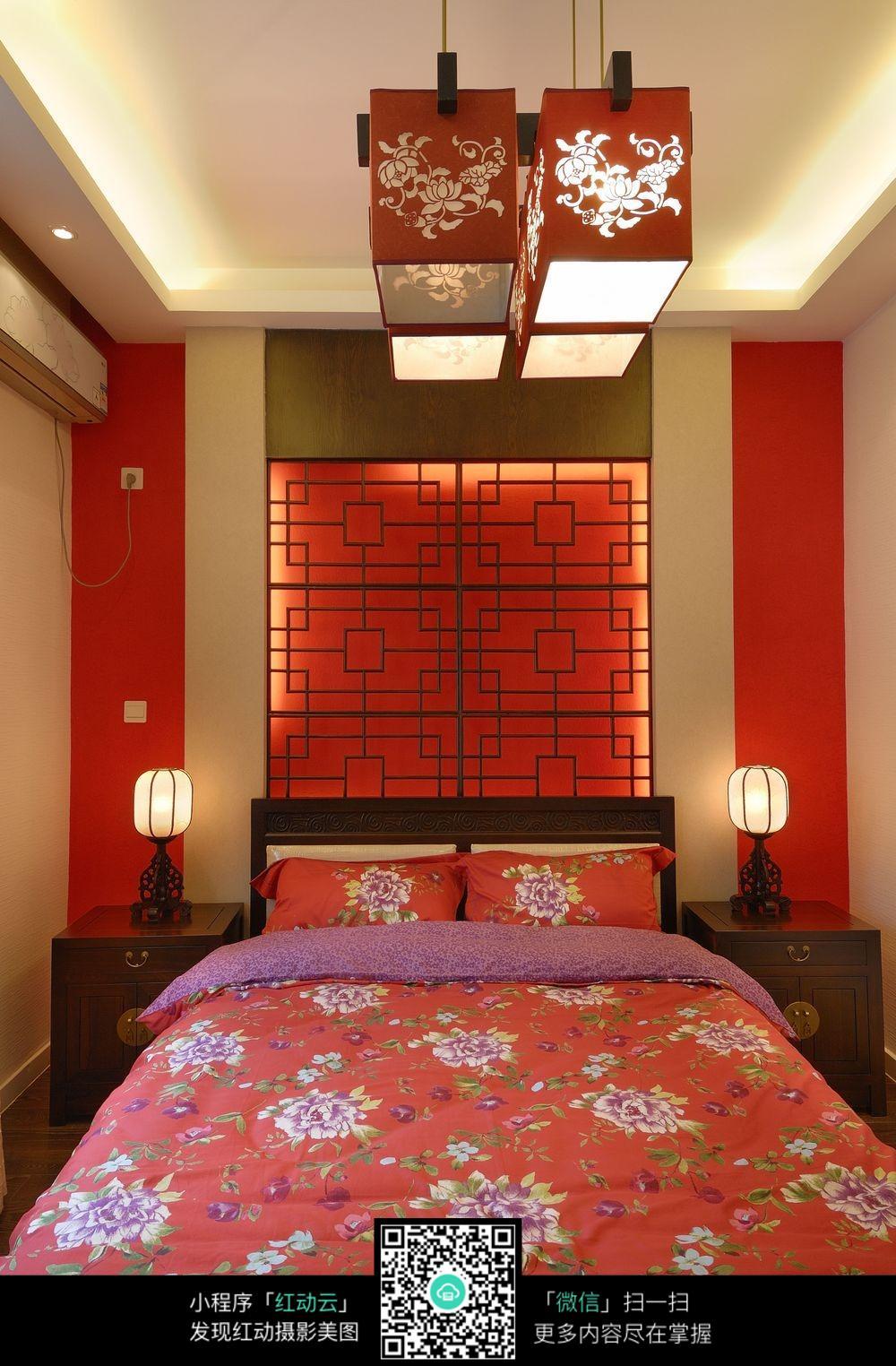 中式装修婚房布置