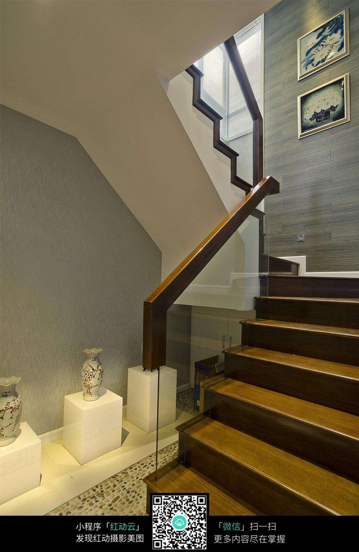 楼梯装修效果图图片免费下载 编号5691605 红动网