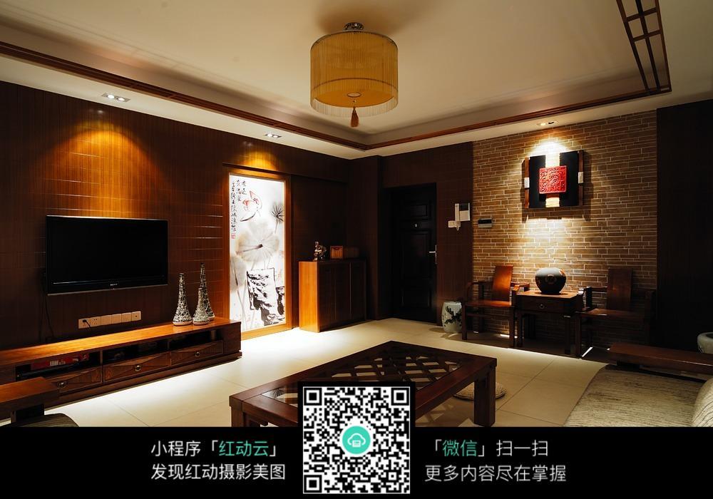 客厅灯光装修设计效果图图片